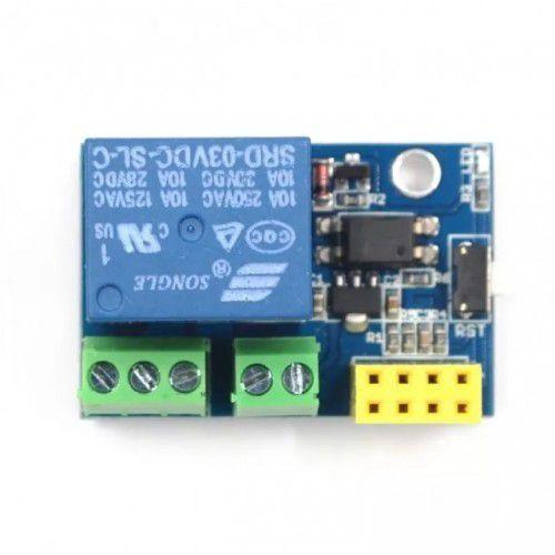 Adaptador ESP8266 ESP-01 / Relé 5V 10A – 1 Canal