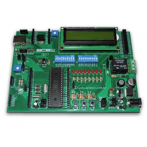 Placa ACEPIC IOT para Microcontroladores PIC