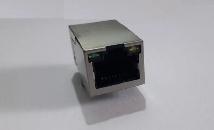 Conector Rj45 Ethernet 10/100 J1011f01pnl - Pulse