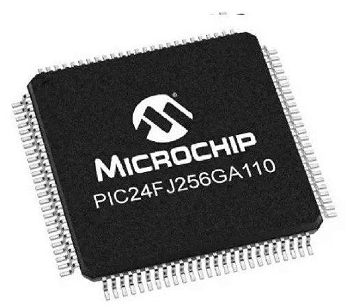Microcontrolador Pic24fj256GA110 I/PT