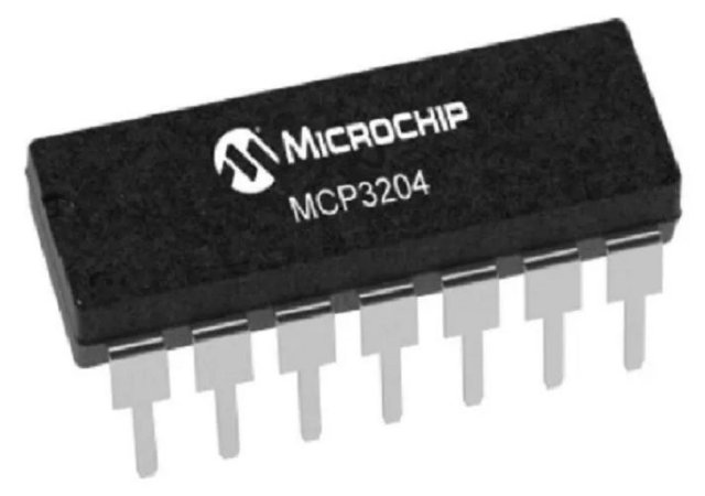 Conversor Analógico Digital Mcp 3204 (12 Bits)