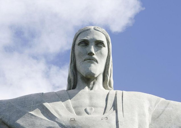 Quadro do majestoso Cristo Redentor