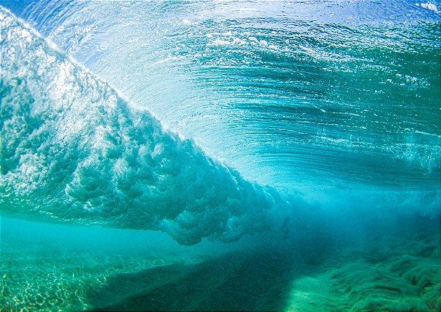 Turbilhão underwater no Hawaii