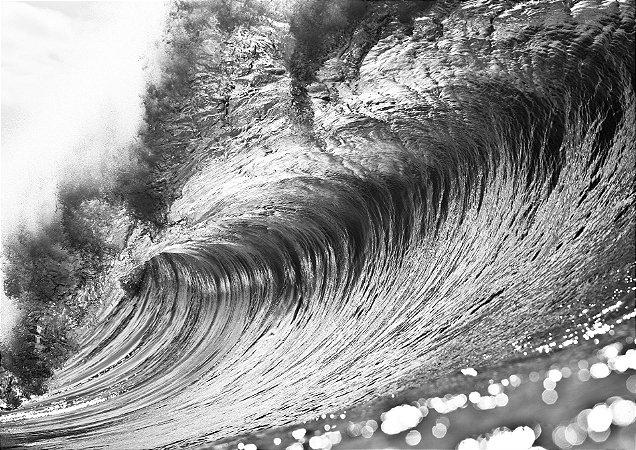 Empty metal wave, Pipeline/Hawaii