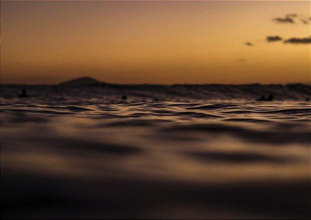 Fim de tarde na praia da Baleia