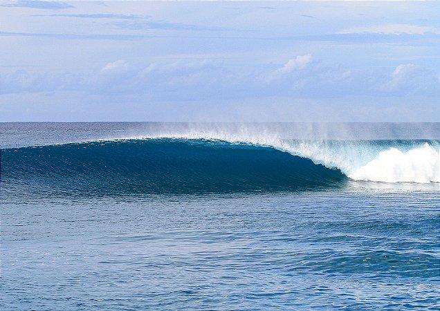 Lineup perfect wave Hts - Hawai