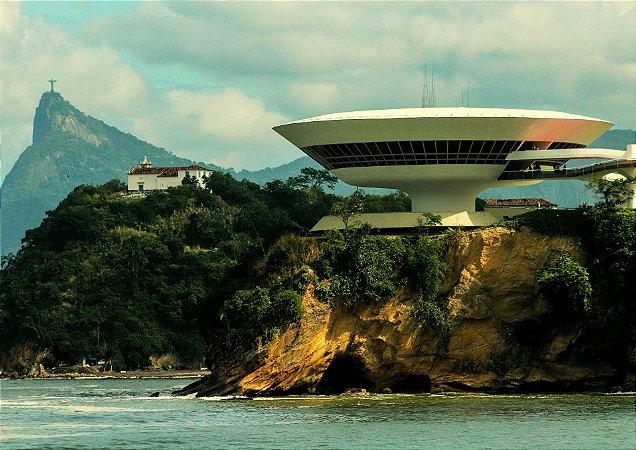 Visão de 3 pontos turísticos do Rio de Janeiro