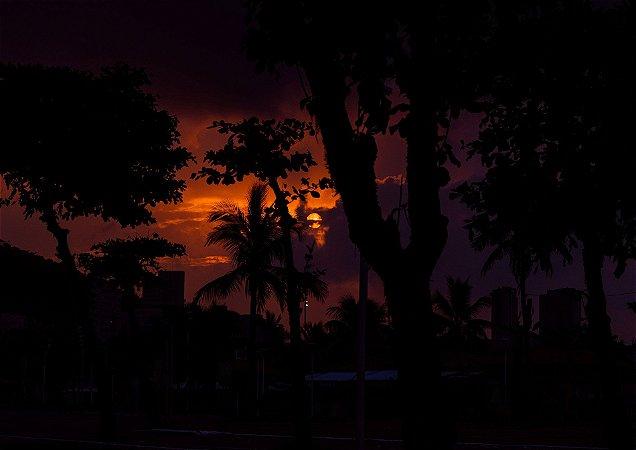 Pôr do sol em Itararé