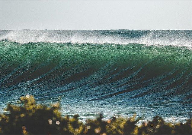 Formação de Onda na Praia Silveira Sul