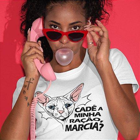 Gato Sphynx - Cadê a minha ração Marcia?
