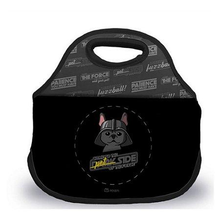 Bolsa Lancheira Bulldog O Lado Negro da Força