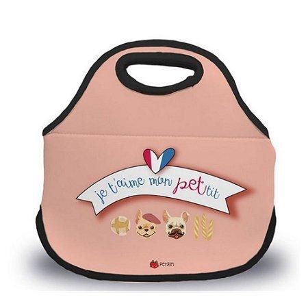 Bolsa Lancheira Meu pequeno Bulldog