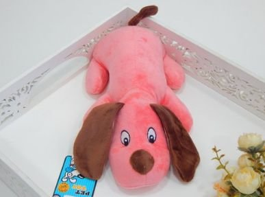 Brinquedo Pet Pelúcia Doguinho Rosa