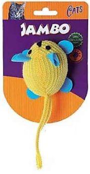 Brinquedo Pet Ratinho Brilhante Com Catnip