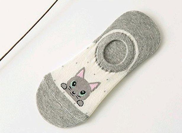 Meia de Gato - Modelo Soquete