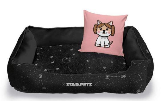 Caminha para Cachorro Princesa Leia - Coleção Star Pets