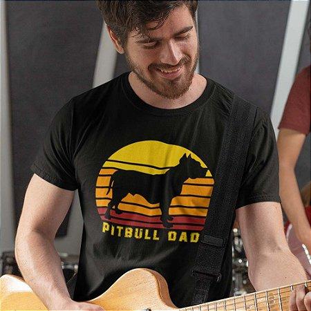 Camiseta Pai de Pitbull