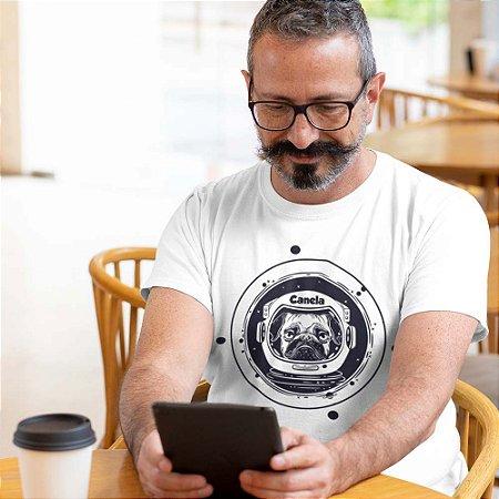 Camiseta Pug Astronauta