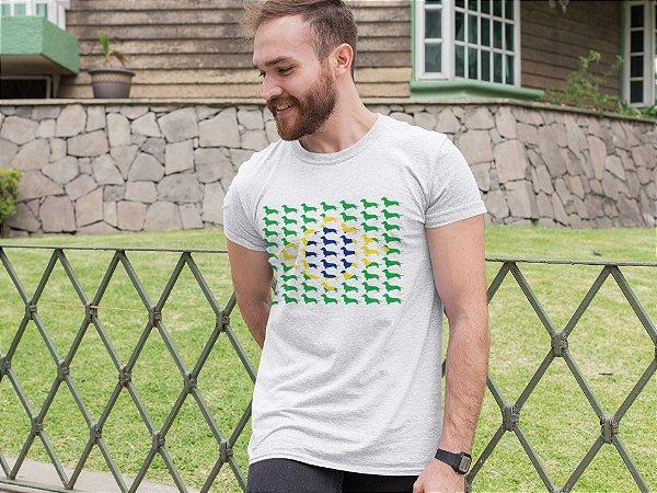 Camiseta Canela Brasil