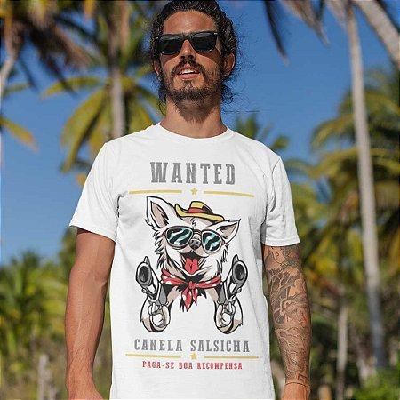 Camiseta Chihuahua Bandoleiro Procurado