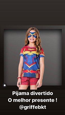 Pijama da Capitã Marvel