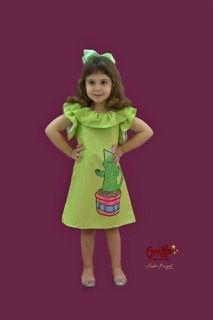 Vestido Cactus Gata Mylu