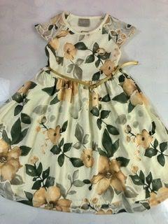 Vestido Flores Cores