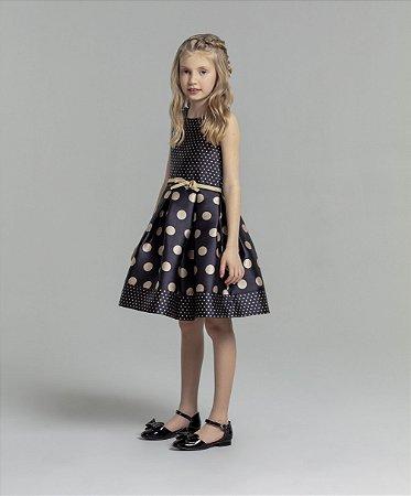 Vestido Bolinhas Petit Cherie