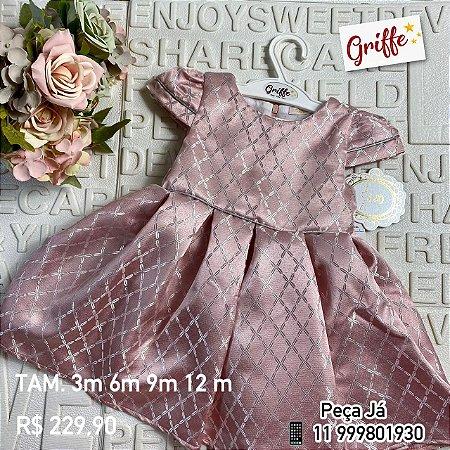 Vestido Rose Petit Cherie
