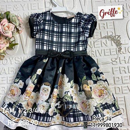 Vestido Petit Cherie Bichos