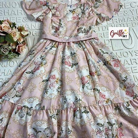 Vestido Royal Flower Petit Cherie