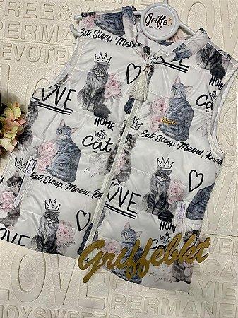 Colete Cat Love Luluzinha
