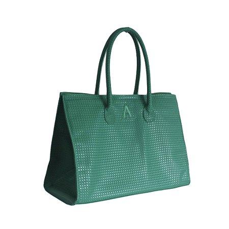 Bolsa modelo Fádia verde bandeira personalizada