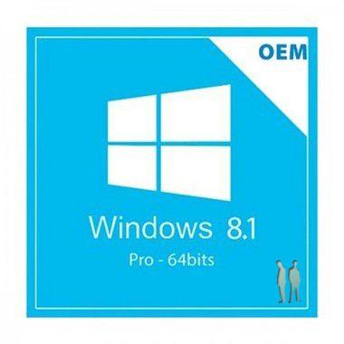 Windows 8.1 Professional COEM 64 Bits