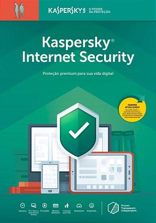 Kaspersky Internet Security 3 Dispositivos 2 Anos BR Download