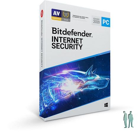 Bitdefender Internet Security 2020 - 1 Dispositivo | 1 Ano | Windows