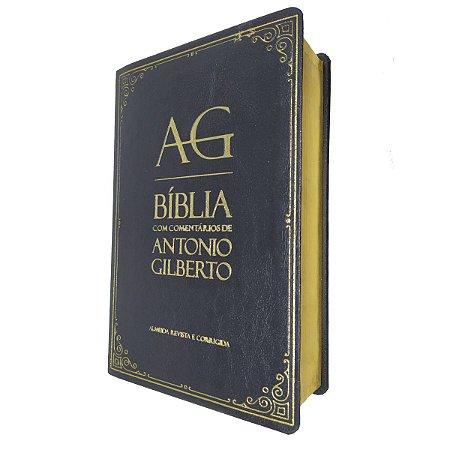 Bíblia Com Comentários De Antonio Gilberto Preta - Cpad