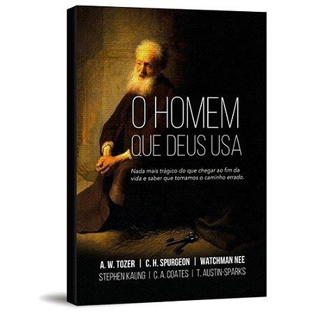 Livro O Homem Que Deus Usa - Grandes Autores - Pão Diário
