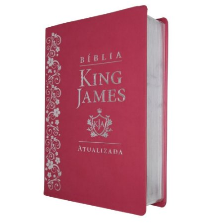 Bíblia De Estudo King James Atualizada Grande Pink