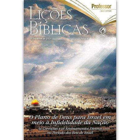 Revista Lições Bíblicas Adultos Profº 3º Trimestre de 2021