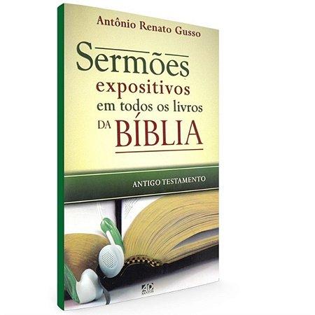 Livro Sermões Expositivos em Todos os Livros da Bíblia