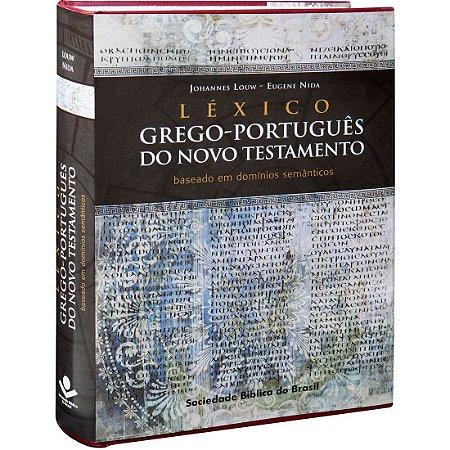 Léxico Grego-Português do Novo Testamento - Sbb