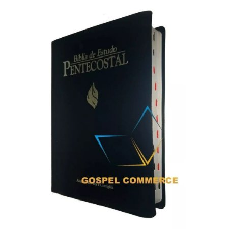 Bíblia de Estudo Pentecostal - Com Índice Grande Azul - Cpad