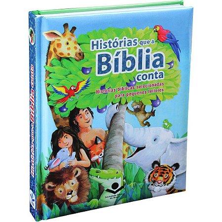 Livro Infantil Histórias Que A Bíblia Conta - Sbb