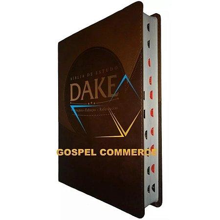 Bíblia de Estudo Dake Com Índice - Marrom - Atos