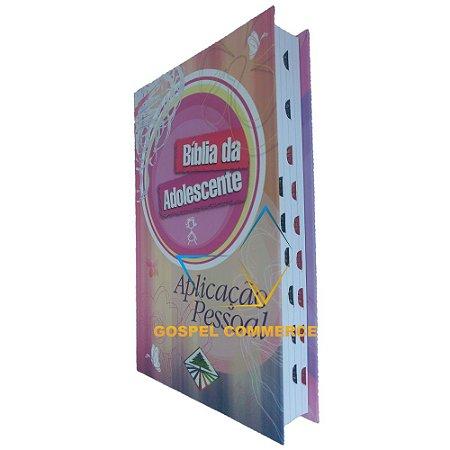 Bíblia da Adolescente Aplicação Pessoal Capa Dura - Cpad