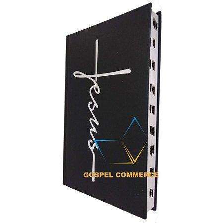 Bíblia Jovem - Jesus Preta Capa Dura - Cpp