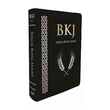 Bíblia King James 1611 Super Luxo - Letra Ultra Gigante Preta - Bv Books
