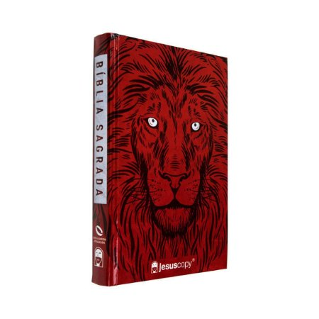 Bíblia Sagrada Leão Vermelho NAA - JesusCopy