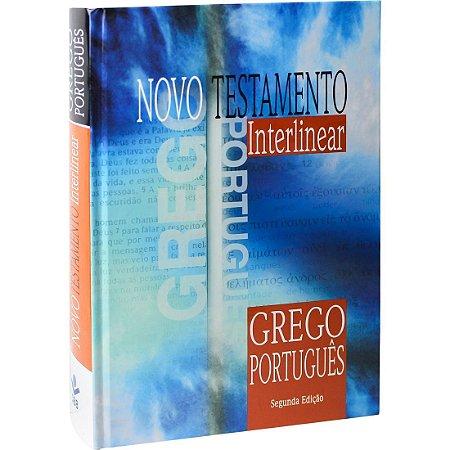 Novo Testamento Interlinear Grego-Português - Capa Dura - Sbb